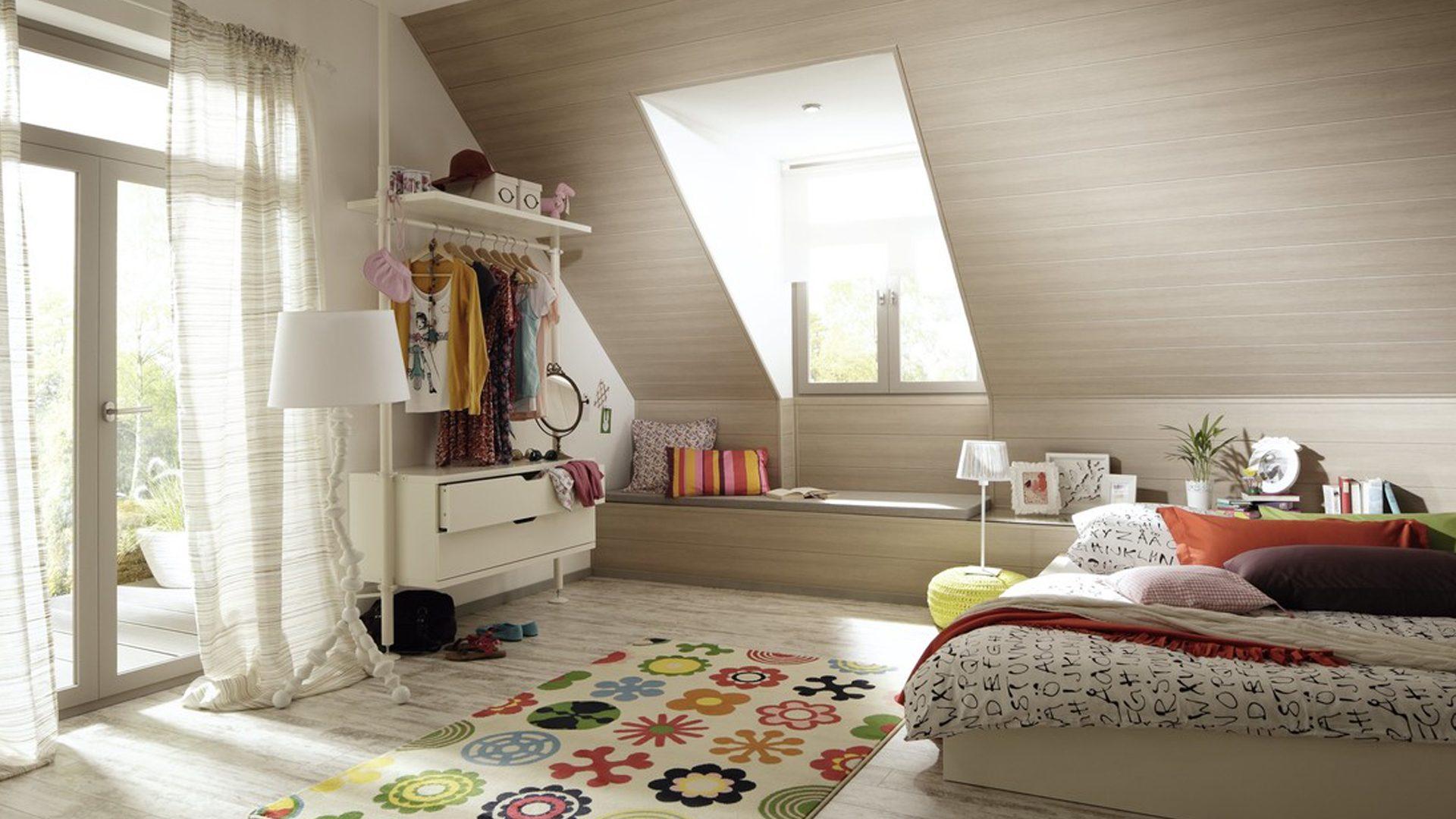 Paneelen, Decken, Wand, Spaltholz
